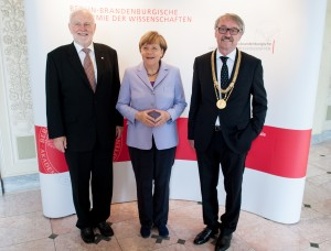 German Chancellor Angela Merkel reaffirms role of Academies and importance of state support for science at ceremonial address for ALLEA President