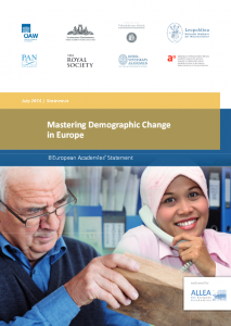 "Academies issue recommendations on ""Mastering Demographic Change in Europe"""