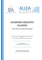 Complete Report Released – Academia-Industry Alliance: Joint Efforts in Science Education
