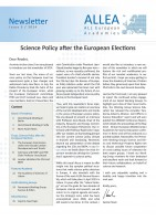 Science Policy after the European Elections – ALLEA newsletter release