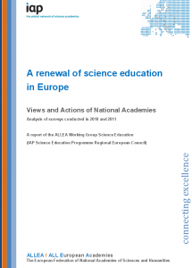 WGSE renewal of science education