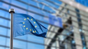 European Union flag against European Parliament | Fotolia