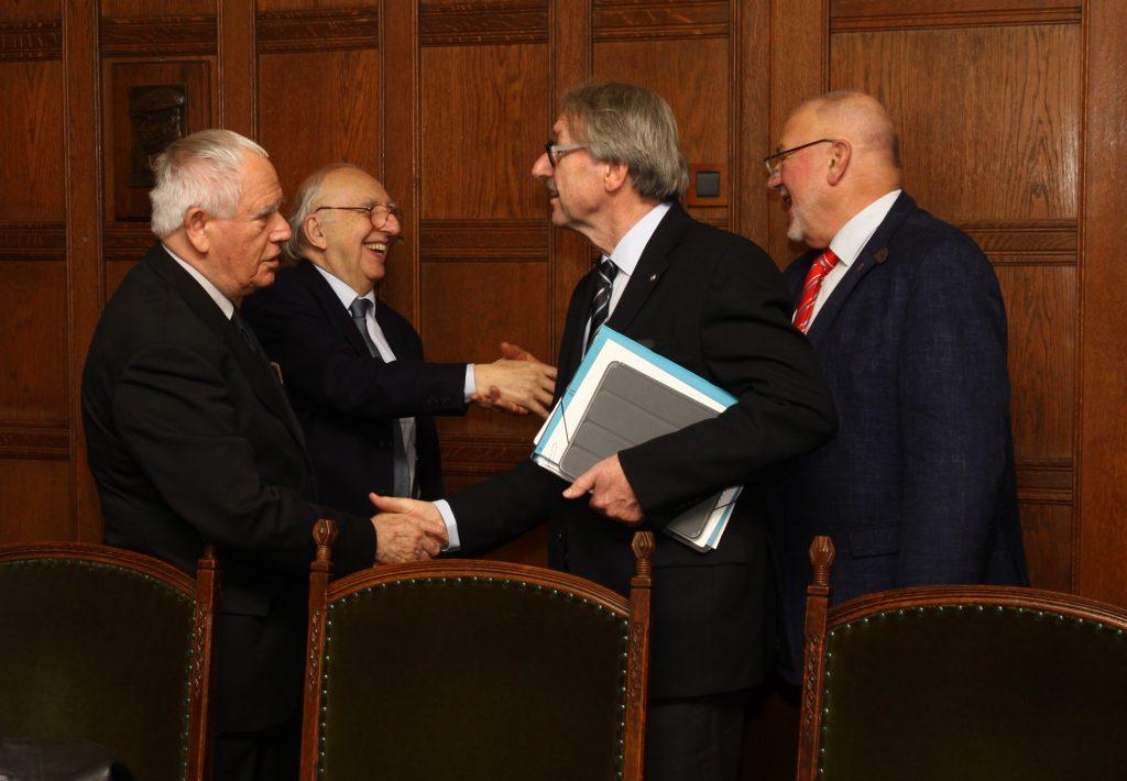 ALLEA President salutes SASA Vice President Ljubomir Maksimovic