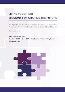 "Support for the Joint Statement for FP9 ""Living Together: Missions for Shaping the Future"""