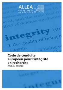 Code de conduite européen pour l'intégrité en recherche