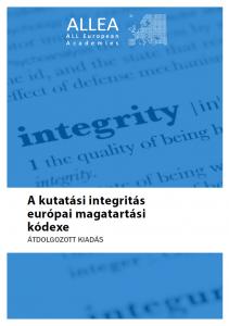 A kutatási integritás európai magatartási kódexe