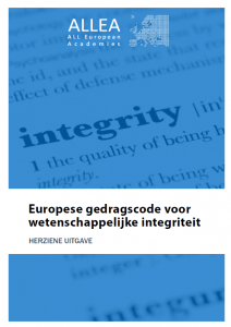 European Code of Conduct for Research Integrity translated into Dutch, French, Hungarian, Spanish