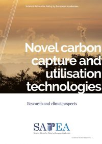SAPEA provides evidence for the European Commission  on Carbon Capture and Utilisation technologies