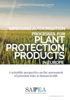 SAPEA provides evidence for the European Commission on authorisation of Plant Protection Products