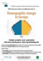 "ALLEA co-organises debate on ""Demographic Change in Europe"" at the European Parliament"