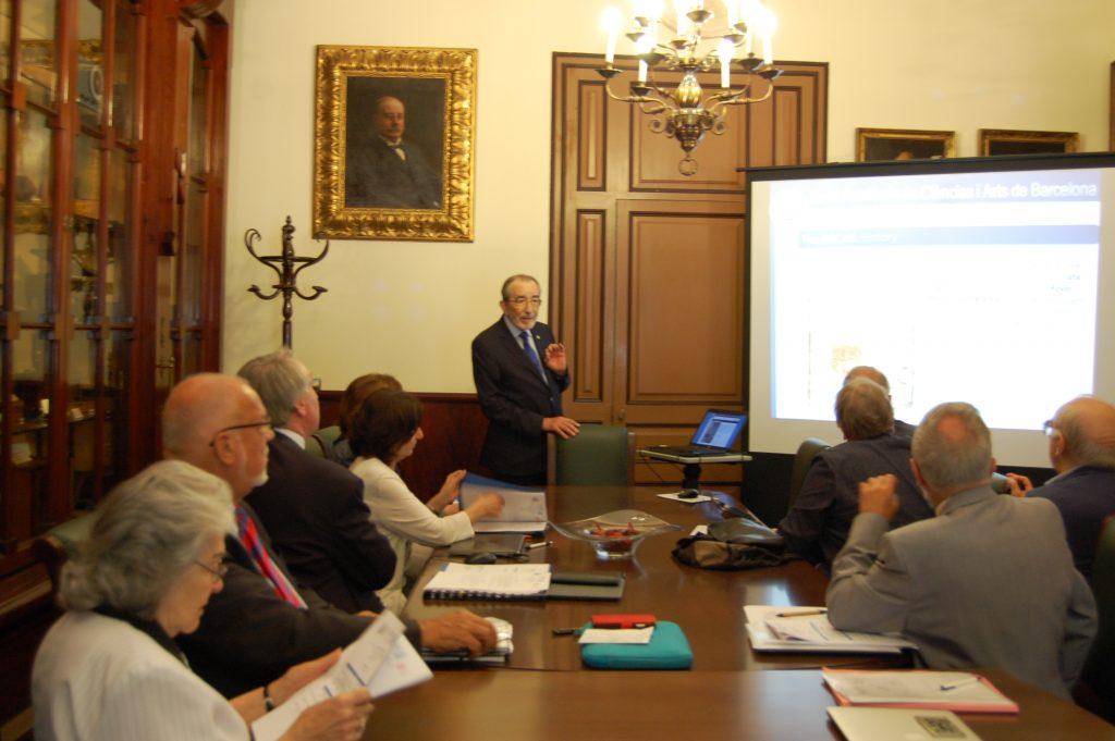 ALLEA Board meets in Barcelona in preparation of the 2017 General Assembly