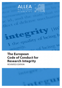 European Code of Conduct for Research Integrity – New set of translations available