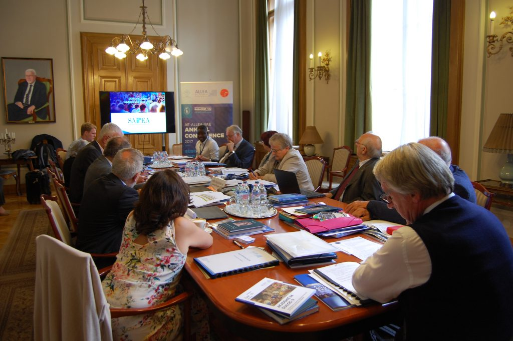 ALLEA Board starts preparations for the 2018 Presidency transition