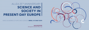 ALLEA 2019 General Assembly: Science and Society in Present-Day Europe